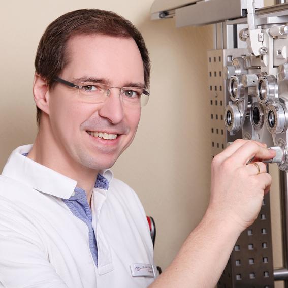 Dr. med. Jörg Leu · Facharzt für Augenheilkunde