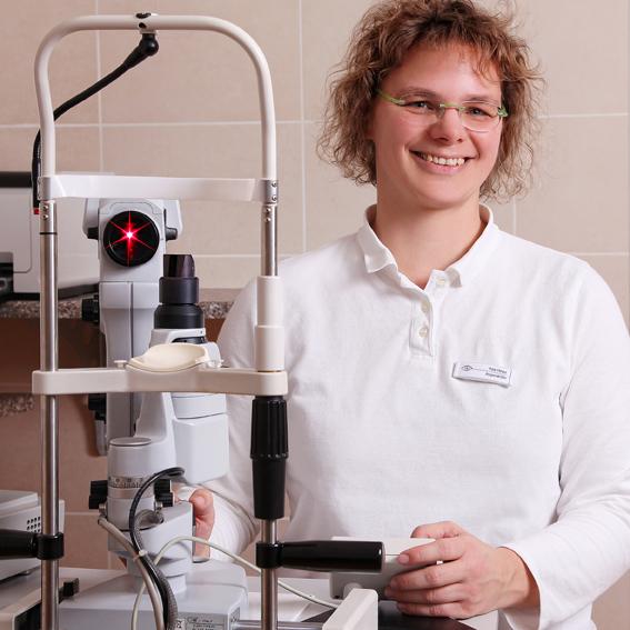 Rita Hinze, Fachärztin für Augenheilkunde
